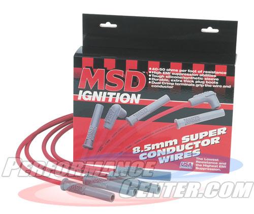 MSD 8.5MM Super Conductor Spark Plug Wire Set