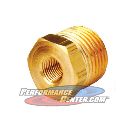 Perma Cool Remote Oil Filter Brass Fitting
