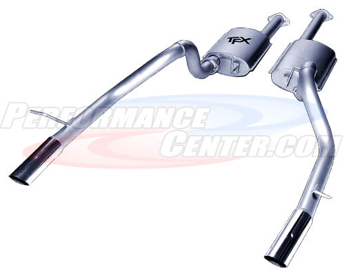Pacesetter TFX Performance Dual Side Exit Kat-Back Exhaust System