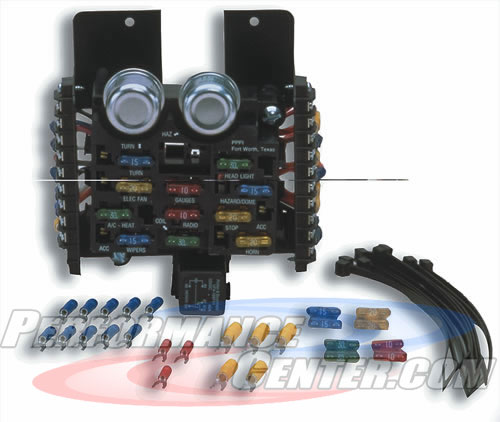 Painless Compact Universal Fuse Block