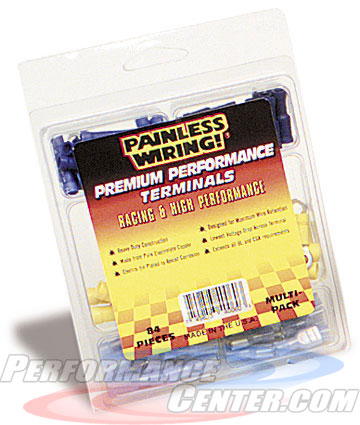 Painless 84 Piece Premium Performance Terminal Assortment Kit