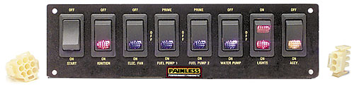 Painless Rocker Switch Panels