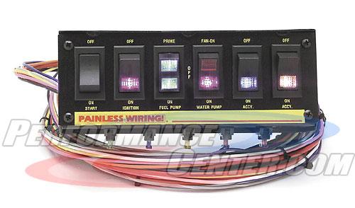Painless Rocker Switch Panels