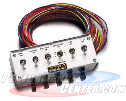 Painles Rocker Switch Control Centers